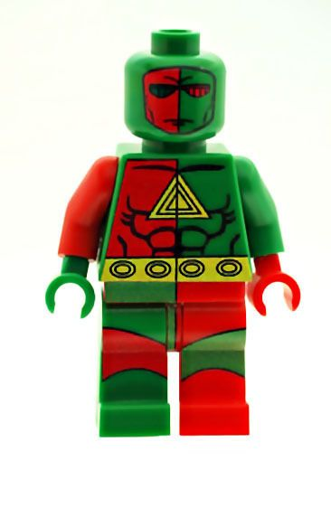 3D Man - Custom Designed Minifigure