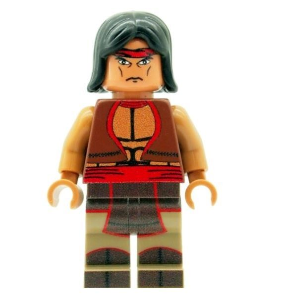 Apache Chief - Custom Designed Minifigure