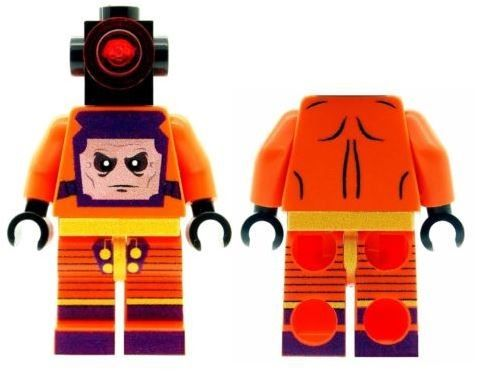 Armin Zola (Specially-Modified Robot Body) Enemy of Captain America - Custom Designed Minifigure