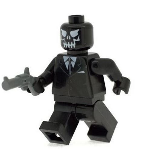 Black Mask - Custom Designed Minifigure