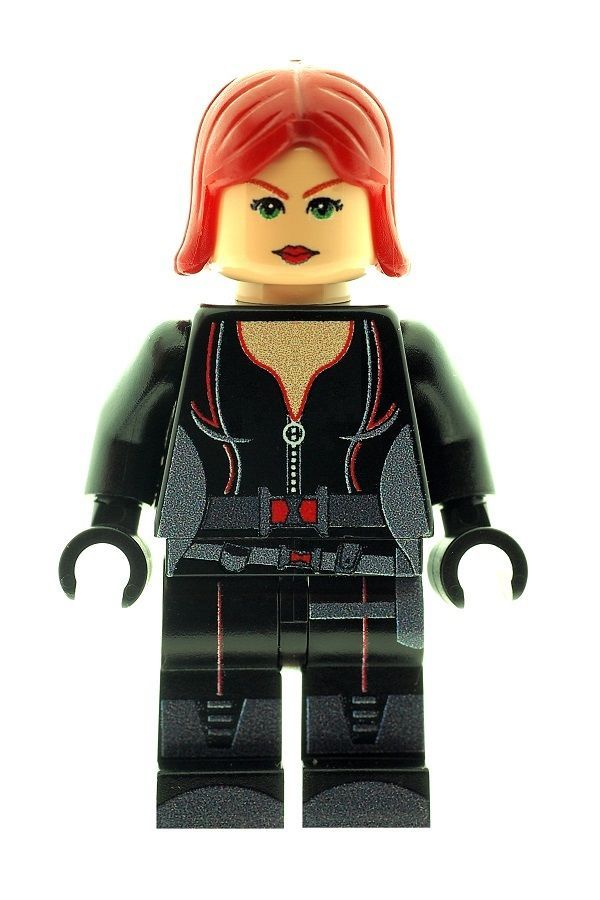 Black Widow from Winter Soldier (Captain America) - Custom Designed Minifigure