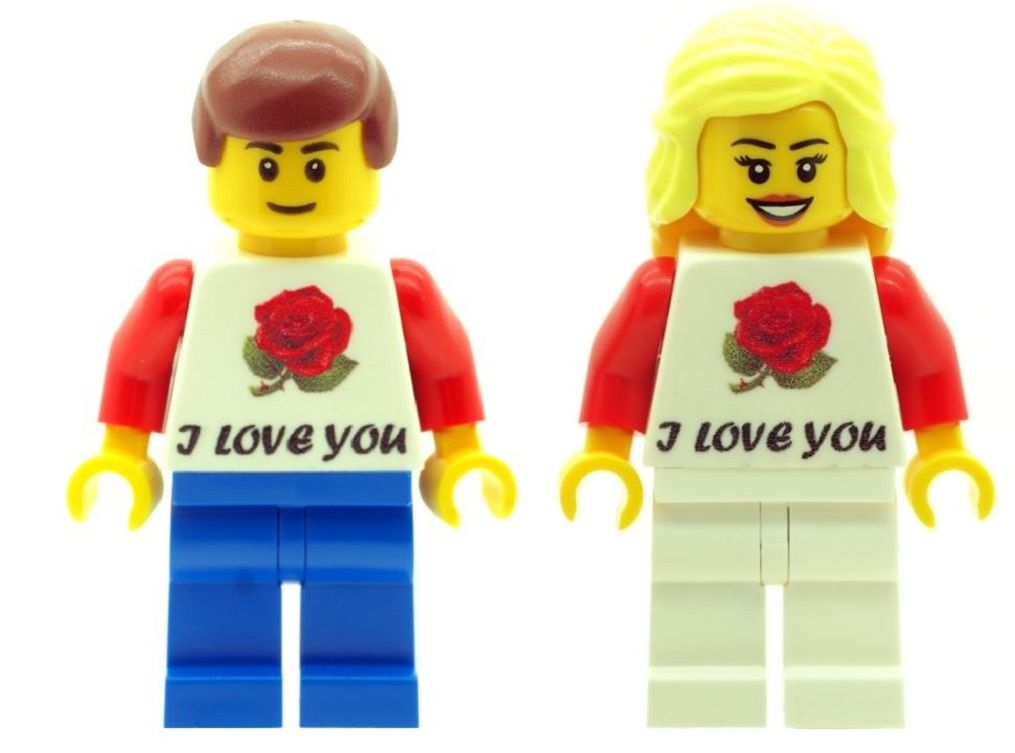 LEGO Birthday Birthday Boy Minifig Girl Mini Figure