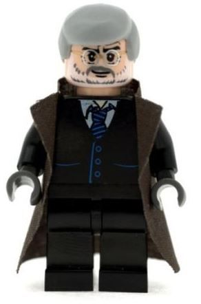 Commissioner Gordon - Custom Designed Minifigure
