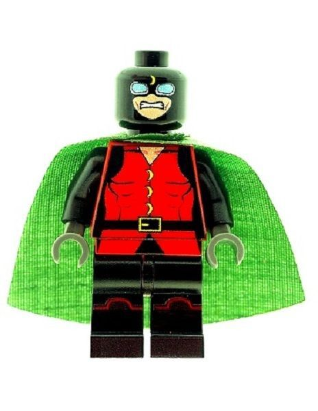 Doctor Midnight (Physician - Charles McNider) - Custom Designed Minifigure