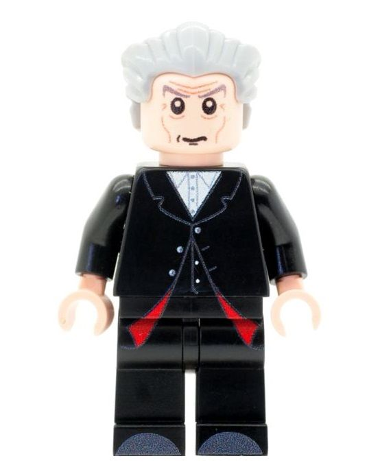 Doctor Who The Twelfth Doctor - Custom Designed Minifigure