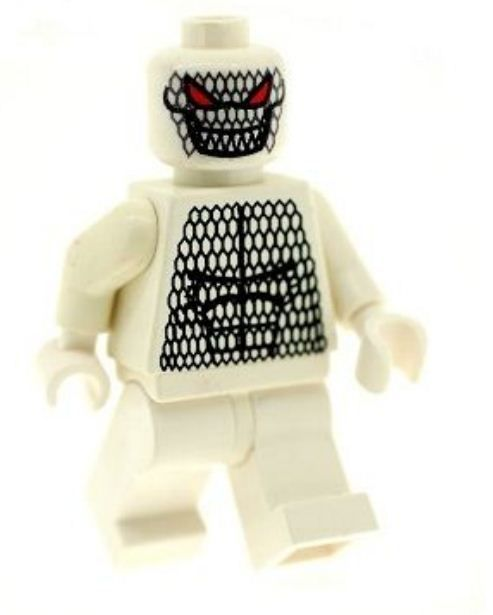 Ghost of Killer Croc - Custom Designed Minifigure