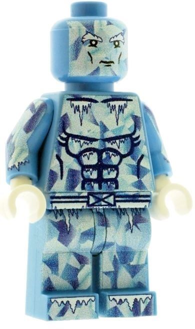 Iceman - Custom Designed Minifigure