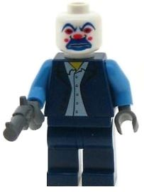 Joker as Bank Robber - Custom Designed Minifigure