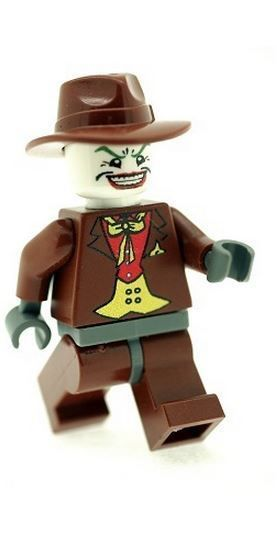 Joker in Brown Suit - Custom Designed Minifigure