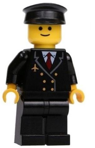 LEGO® Airline Pilot Minifig fromTown & City