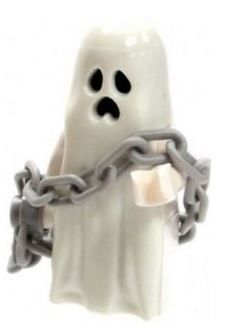 LEGO Glow in the Dark Ghost with Chain