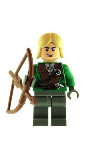 Legolas Elf Bowman (Lord of the Rings) - Custom Designed Minifigure