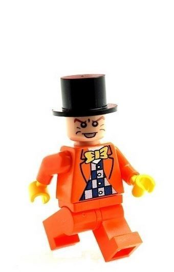 Mad Hatter (Orange Suit) - Custom Designed Minifigure