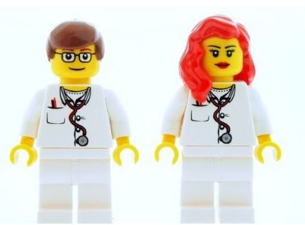 Male & Female Nurse Doctor Medic