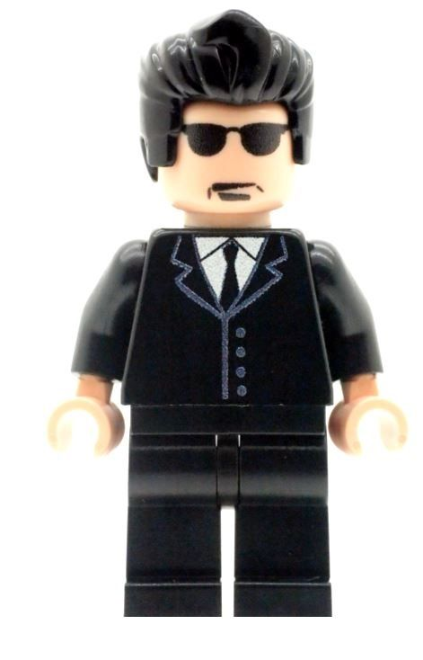Mr Brown From Reservoir Dogs - Custom Designed Minifigure