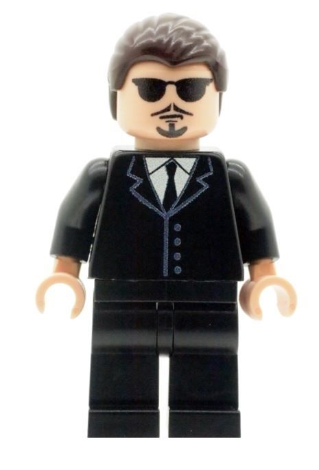 Mr Pink From Reservoir Dogs - Custom Designed Minifigure