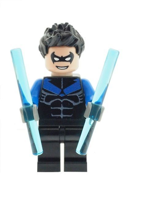 Nightwing - Custom Designed Minifigure