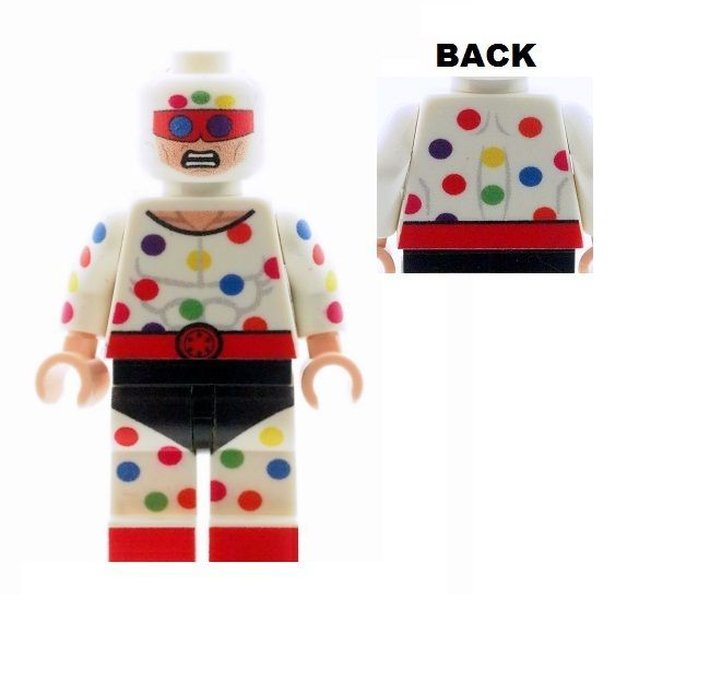 Polka Dot Man - Custom Designed Minifigure