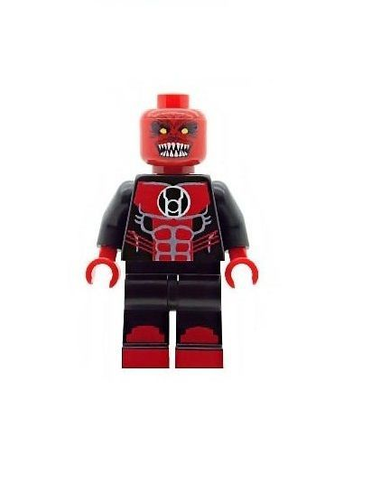 Red Lantern (Atrocitus) - Custom Designed Minifigure