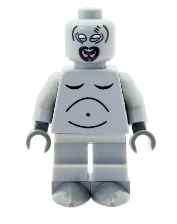 Roger Smith Also Known as Wogir With Goatee (American Dad) - Custom Designed Minifigure