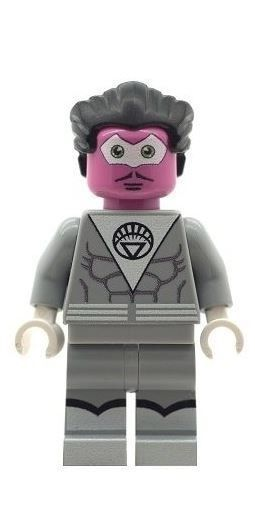 Sinestro (Grey Suit) - Custom Designed Minifigure
