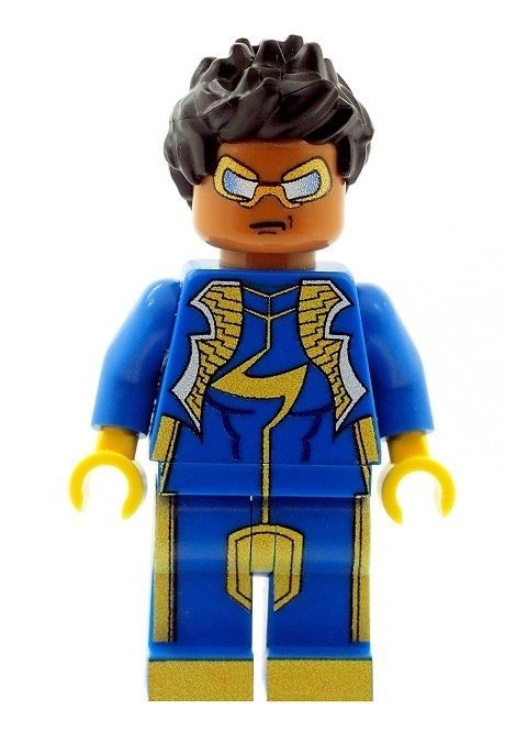 Static Shock (Virgil Orvid Hawkins) - Custom Designed Minifigure