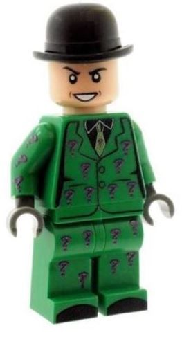 The Riddler (1960's) - Custom Designed Minifigure