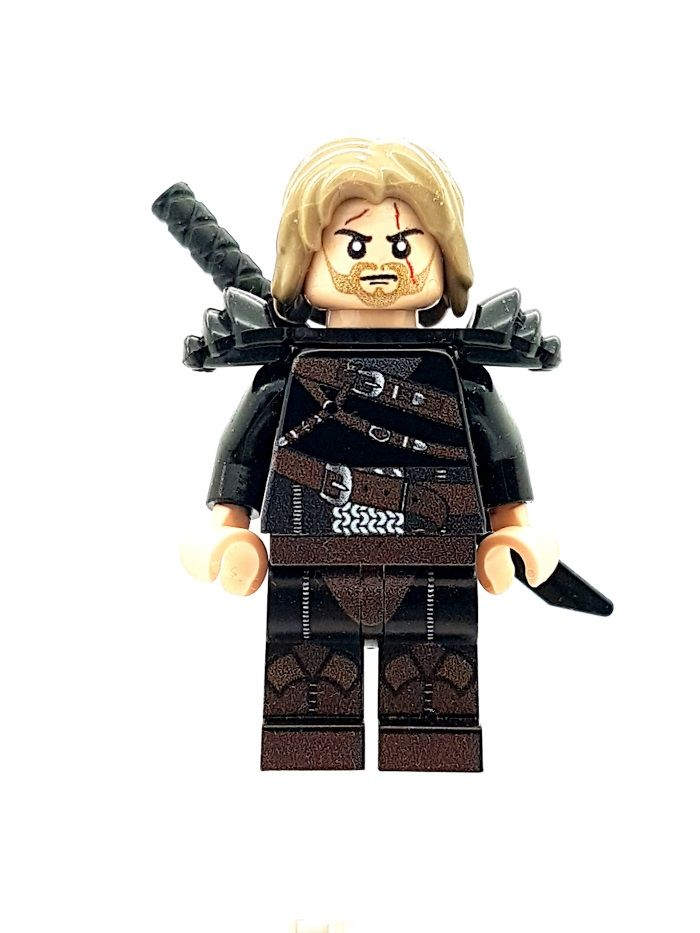 The Witcher Geralt of Rivia Custom Designed Minifigure